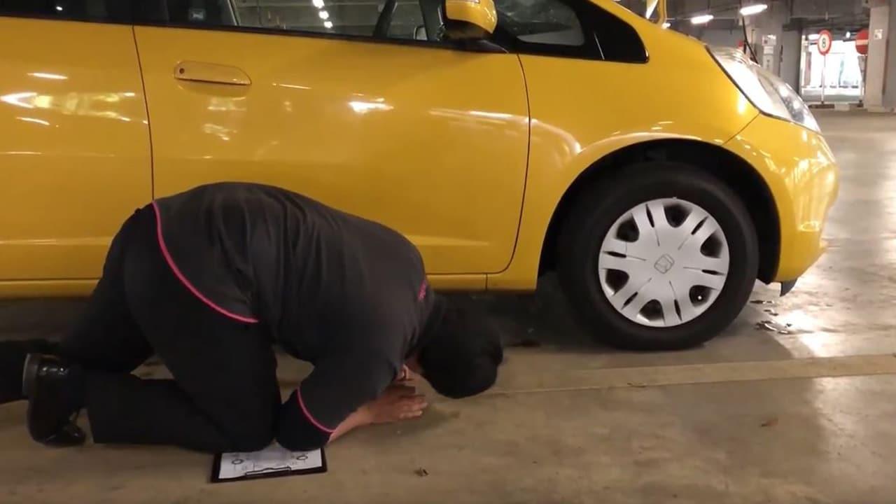 車査定 キズ、汚れ、凹みの確認